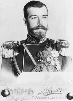 """Czar Nicholas II (1868-1918) Leader of Russia during the Russo-Japanese War, was in power when Mark Twain wrote """"The Czar's Soliloquy"""" which advocated assassination of the Czar & his family. (Good to know!) Photo from Library of Congress Prints & Photographs Division."""