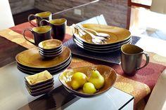 Tiger Eye Dinnerware
