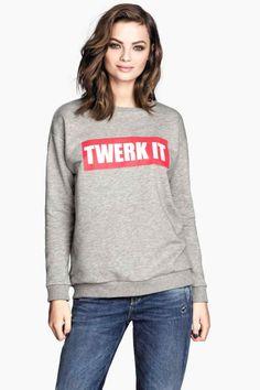 Twerk it sweater