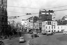 St. Mary Street, Cardiff, complete with tram cables 1960s - 28 brilliant pictures that capture Cardiff's remarkable changes in recent decades