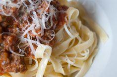 Receta de cocina: Salsa Boloñesa
