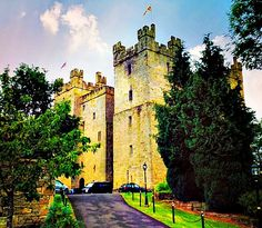 A Cork, A Fork, and A Passport: Langley Castle: A Real Life Fairytale Experience-Although this castle was built in the 1200's to replace the one built by my Tindall (Tyne-dale) Border Lord ancestors, it is on the same site.  Going there some day!