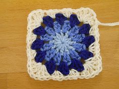 Straightening your edge-Nice Solution-Try this with my next circles in squares grannies.