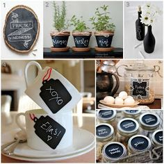 chalk paint fun ideas