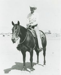 Poco Lena was the first horse inducted into the NCHA Hall of Fame and the first mare in the American Quarter Horse Hall of Fame.
