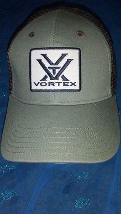 8b8e659197d Vortex Optics Trucker Hat brown Snapback Mesh Back Cap