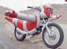 マシーン・ザボーガー. Nice bike.