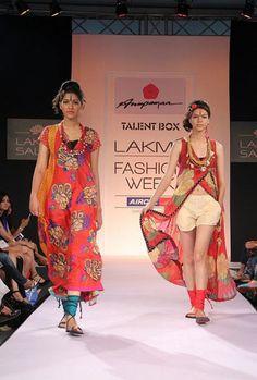 Anupama Dayal Collection at Lakme Fashion Week 2013 on Day 1