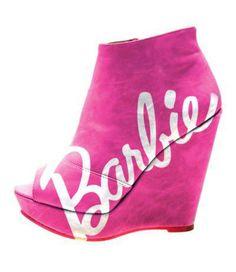 Barbie pumps :)