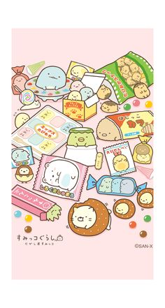 60 super ideas for wallpaper cartoon cute kawaii Kawaii Doodles, Cute Doodles, Kawaii Art, Cute Food Drawings, Cute Animal Drawings Kawaii, Kawaii Illustration, Cute Japanese, Kawaii Wallpaper, Jolie Photo