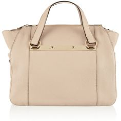 Chloé Bridget small textured-leather tote found on Polyvore