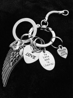 The HALO Key Chain by HEAVENSBOOK on Etsy