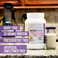 2 FUEL Mom Fuel Protein Powder - Choose Your Flavors Bundle and Save - Caramel Swirl / Caramel Swirl