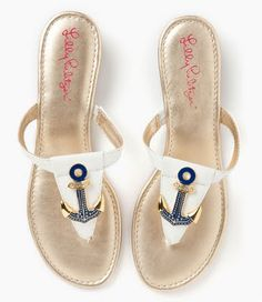 8b2eaf1955e8 Cute little anchor sandals. LILLY anchor sandals Oh Oh Oh Pulitzer ⚓ Beach  Cottage Life ⚓