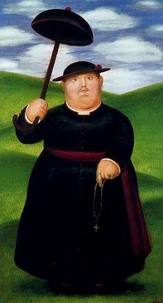 """Я гуляю по холмам"" Фернандо Ботеро (исп. Fernando Botero, р. 1932) – современный колумбийский художник. Биография, картины: http://contemporary-artists.ru/Fernando_Botero.html"