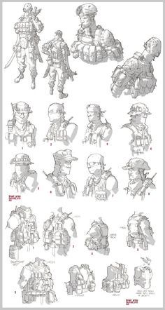 Grunt Army by the late Clement Sauve RIP