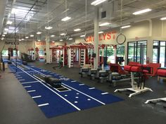 MoveStrong layout and custom functional training station.
