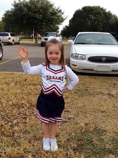 An extra chromosome makes for an extra awesome cheerleader! ♥ Down syndrome awareness Down Syndrome Adoption, Down Syndrome And Autism, Down Syndrome People, Down Syndrome Awareness, Down Syndrome Baby, Jerry's Kids, Cute Kids, Cute Babies, Baby Kids