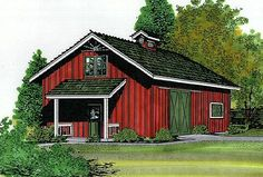 Winchester All-Purpose Barn Plans at BarnsBarnsBarns.com