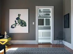 Gray wall paint designs
