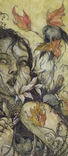 First look at one of Jeremy Hush's new works for 'At A Loss For Words' opening Sept. in the project room at Thinkspace by thinkspace_ga. Pretty Art, Cute Art, Art Sketches, Art Drawings, Arte Grunge, Arte Indie, Japon Illustration, Funky Art, Fairytale Art