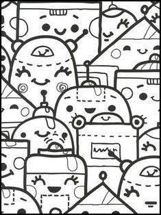 kawaii 30 ausmalbilder für kinder. malvorlagen zum ausdrucken und ausmalen | ausmalbilder