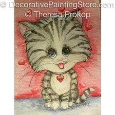 Valentine Kitty ePacket - Theresa Prokop - PDF DOWNLOAD