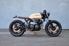 Honda CB750 #caferacer discover #motomood