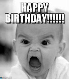 Happy Birthday Meme Funny Baby (20)