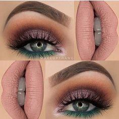 Makeup madness  #glamprocosmetics #minklashes #nudelips #beautifulbrows #makeupaddict #makeupinspo