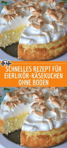 Quick recipe for bottomless eggnog cheesecake - the kitchen cake wedding cake kindergeburtstag ohne backen rezepte schneller cake cake Muffin Recipes, Quick Recipes, Cake Recipes, Dessert Recipes, Eggnog Cheesecake, Cheesecake Desserts, Canned Blueberries, Scones Ingredients, Vegan Blueberry