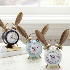 The Emily + Meritt Bunny Alarm Clock   PBteen