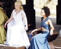 #WomanCrushWednesday Daenerys and Missandei