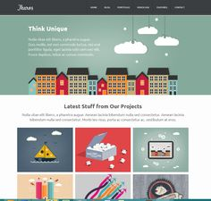 Lovely website layout