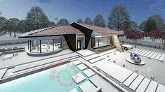 Casa parter 29 | Proiecte de case personalizate | Arhitect Gabriel Georgescu & Echipa House Design, Mansions, House Styles, Home Decor, Houses, Decoration Home, Manor Houses, Room Decor, Villas