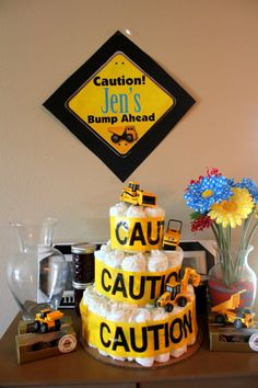 DIY Printable Construction Themed party welcome by LilPartyAnimals, $4.00