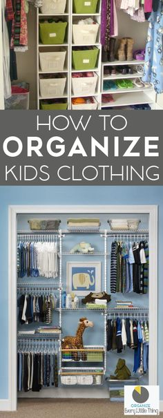 One of the hardest things about maintaining an organized home is sharing it with messy people. Little people. Like your own personal army of dictators that you created yourself. Kids are messy by nature. Teaching a five-year-old to fold all her clothes and hang each outfit together is probably a far-fetched