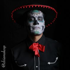 Day of the Dead makeup by Elvia Olivarria Torres.  Photo by Elvia Olivarria Torres AKA Vita Loca.