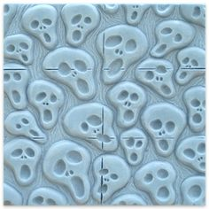 We love this Spooky Tray Soap Mold for Halloween inspired soap making and crafting projects! #soap #mold #Halloween