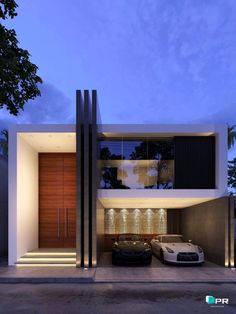 10 Modern homes, architecture For many live in a modern house is of great importance. Let's see a selection of interesting. modern home architecture, home architecture design Modern House Facades, Modern Architecture House, Modern House Plans, Architecture Design, Architecture Interiors, Water Architecture, Design Architect, Residential Architecture, House Front Design