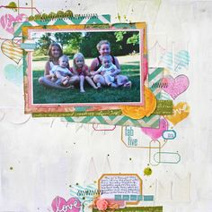 layout by Audrey Yeager featuring Gossamer Blue Kit Club