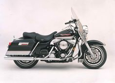 The classically-styled FLHR Road King® is introduced. | Harley-Davidson 1994