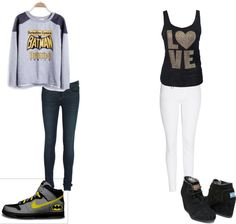 """"""":P"""" by steph-magallanes ❤ liked on Polyvore"""