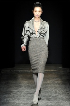donna karanFront needs to be more modest.... easy fix.... this is sooooo cute! Perfect for a day @ the office
