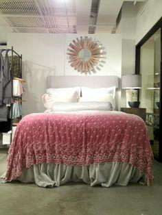 Beautiful #bellanotte linens at #hpmkt @hpmarketnews via @FifthWallDesign