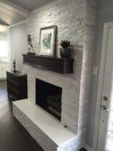 Incredible diy brick fireplace makeover ideas 01