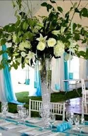 aqua blue and lime green wedding colors - Google Search
