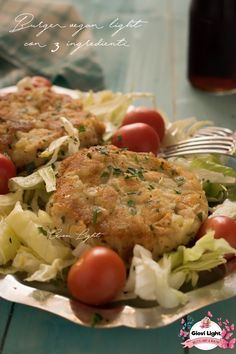 Burger vegan light con 3 ingredienti Vegan Burger Recipe Easy, Burger Recipes, Vegan Recipes, Cooking Recipes, Patties Recipe, Vegan Burgers, Meal Prep, Salute, Soul Food