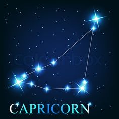 Stock vector of 'vector of the capricorn zodiac sign of the beautiful bright stars on the background of cosmic sky'- Pinned by The Mystic's Emporium on Etsy Capricorn Images, Capricorn Sun Sign, Capricorn Constellation Tattoo, Astrology Capricorn, Capricorn Tattoo, Zodiac Signs Aquarius, Zodiac Art, Astrology Signs, Zodiac Tattoos