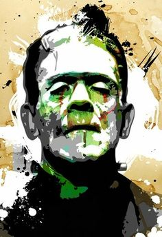 Frankenstein~Pop Art